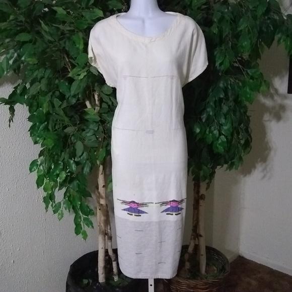 plus size vintage house dress